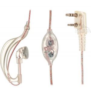 Хендсфрии силиконова слушалка за радиостанции Baofeng