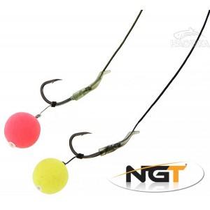 Шарански монтажи за риболов на косъм NGT Dynamic Hair Rigs