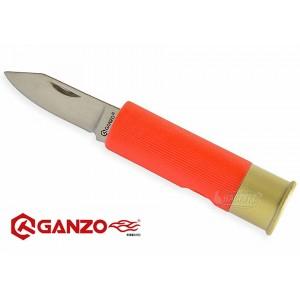 Сгъваем нож патрон Ganzo - червен