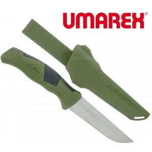 Туристически фиксиран нож Umarex Alpina Sport Ancho - Зелен