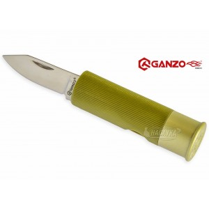 Сгъваем нож патрон Ganzo - зелен