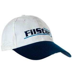 Шапка с козирка FilStar No.2 - Бяла