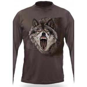 Тениска с дълъг ръкав Вълк