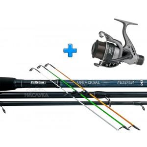Комплект Въдица + Макара за фидер риболов Filstar Universal Feeder - 3.30м
