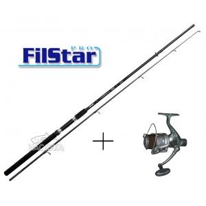 Комплект Въдица + Макара за спининг риболов Filstar Universal Spin - 2.40м