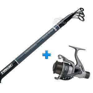 Комплект Въдица + Макара за спининг риболов FilStar Universal Tele Spin - 2.70м