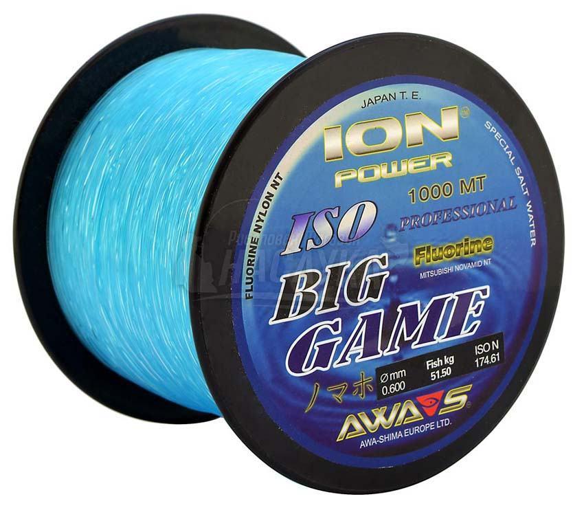 Монофилно влакно Ion Power Big Game Blue 1000м