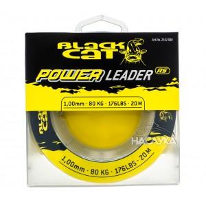 Плетен повод за сом Black Cat Power Leader
