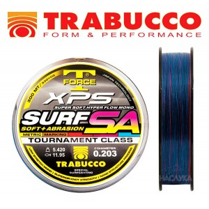 Сърф Кастинг влакно Trabucco XPS Surf SA Mark System - 300м