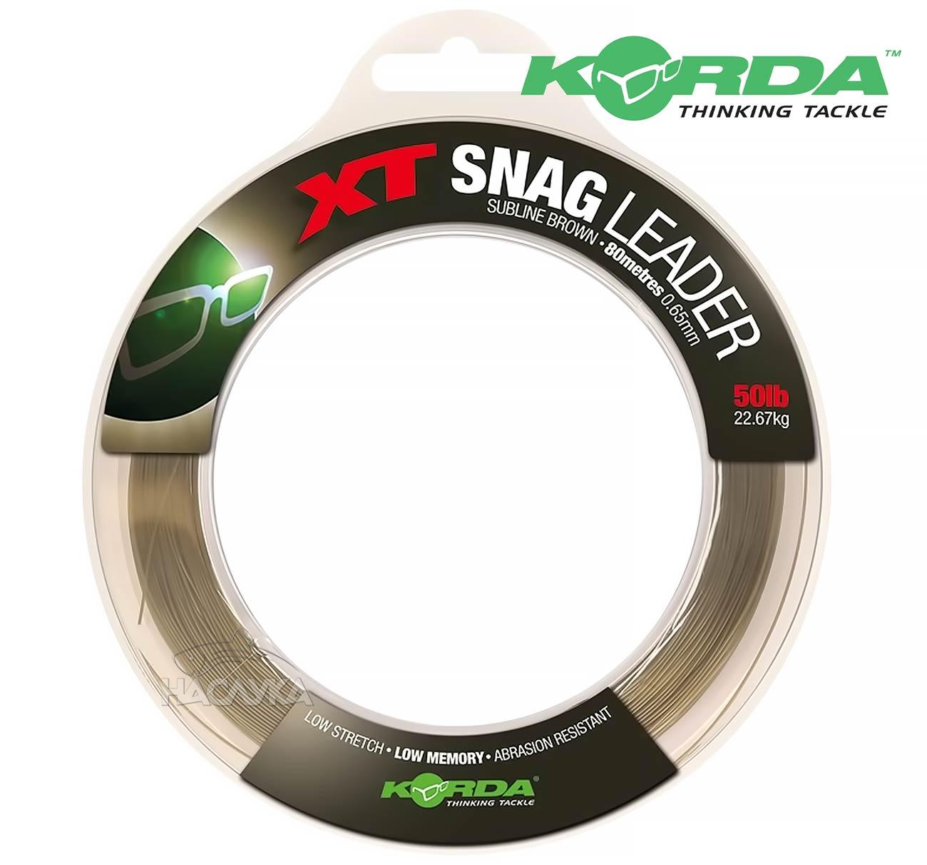 Влакно за шок лидер Korda XT Snag Leader
