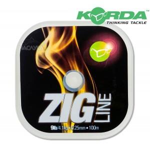 Влакно за зиг-риг Korda Zig Line - 100м
