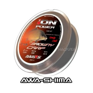 Шаранско влакно Awa-Shima Ion Power Browny Carp - 1200м