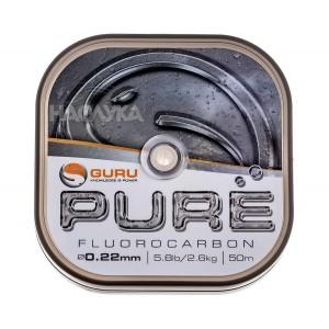 Флуорокарбон Guru Pure 50м