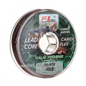 Лийдкор FL Camo Flex Leadcore - 10м