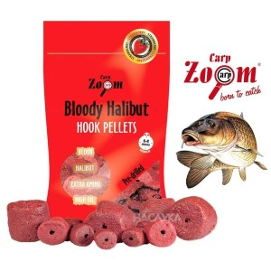Пелети за стръв Carp Zoom Strawberry Halibut
