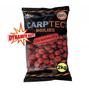 Протеинови топчета Dynamite Baits Carptec Strawberry - 2кг