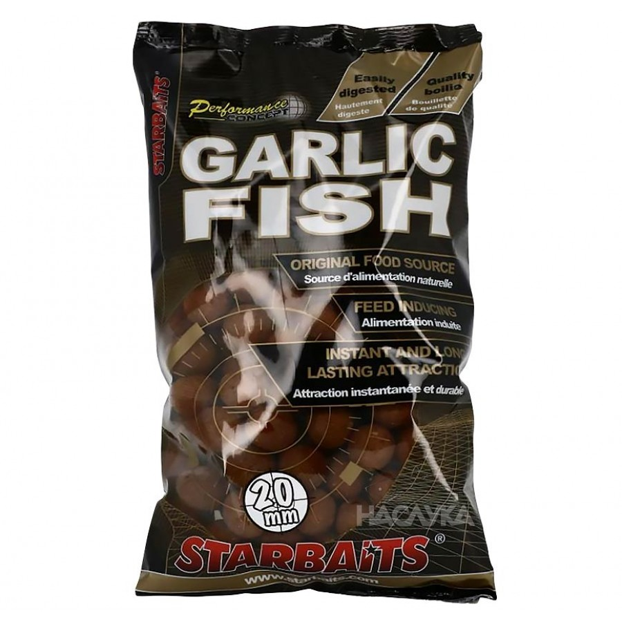 Протеинови топчета StarBaits Performance Concept Garlic Fish