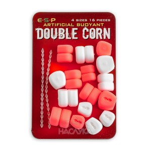 Двойна плуваща царевица E.S.P. Double Corn - Розово и Бяло