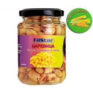 Варена царевица в буркан Filstar - Натурална