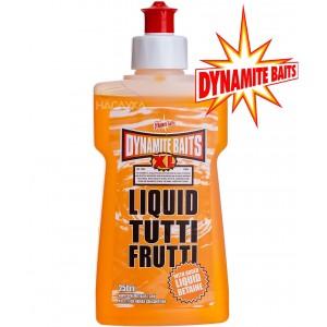 Течна добавка атрактант Dynamite Baits Liquid - Tutti Frutti