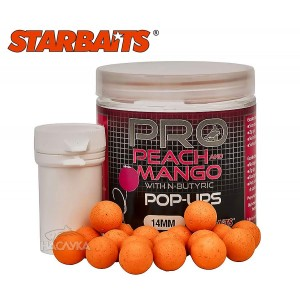 Плуващи топчета StarBaits Pro Pop-Ups Peach and Mango