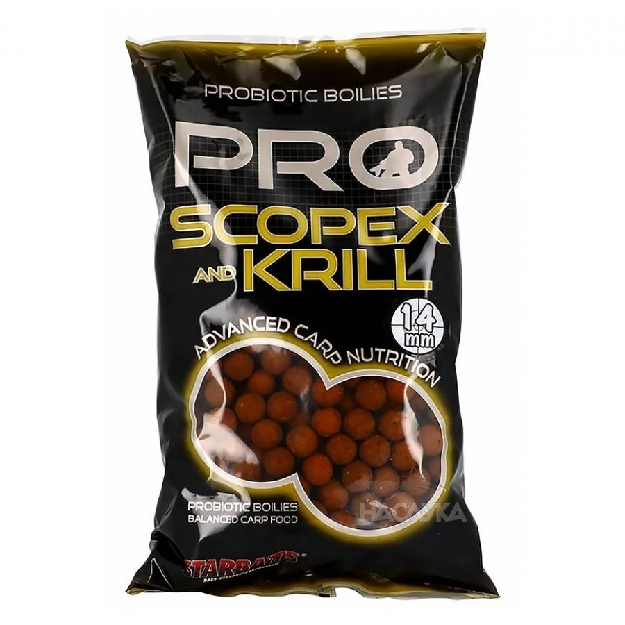 Протеинови топчета StarBaits ProBiotic Scopex Krill