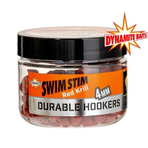 Меки пелети за кука Dynamite Baits Durable Hookers - Red Krill