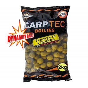 Протеинови топчета Dynamite Baits Carptec Pineapple & Banana - 2кг