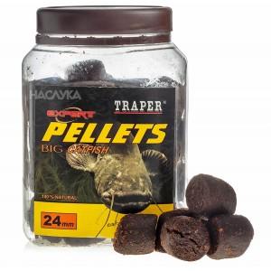 Пелети за сом Traper Expert Pellets Big Catfish - 24мм