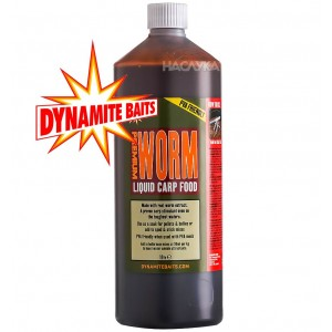 Течна храна Dynamite Baits Worm Liquid Carp Food