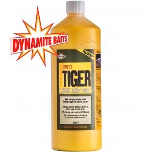 Течна храна Dynamite Baits Sweet Tiger Liquid Carp Food