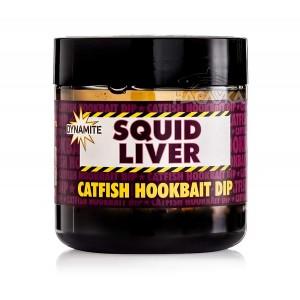 Дип за сом Dynamite Baits Squid Liver Catfish Hookbait Dip