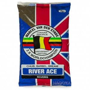 Захранка за риболов Van Den Eynde River Ace - Black